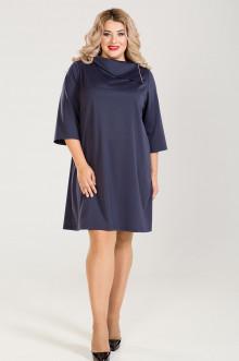 Платье 776 Luxury Plus (Темно-синий)