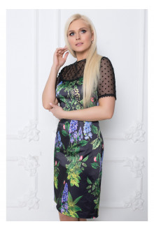 """Платье """"Аврора"""" Саломея (Цветочный принт)"""