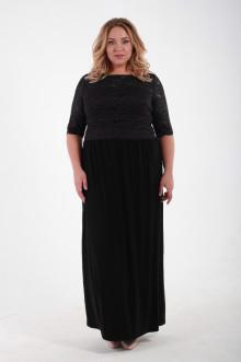 Платье 1111301 ЛаТэ (Черный)