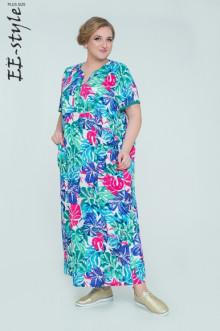 "Платье ""Её-стиль"" 2032 ЕЁ-стиль (Фуксия)"